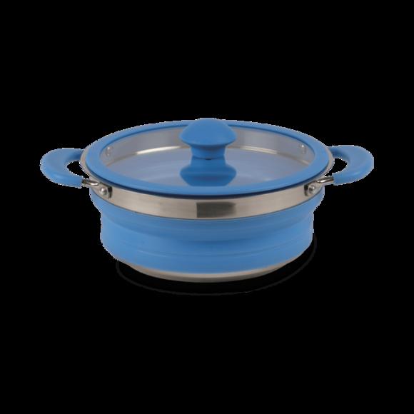 Kampa Collapsible Saucepan 1.5L Blue