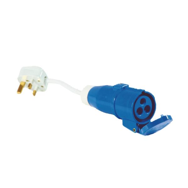 13 Amp Plug to 16 Amp Coupler