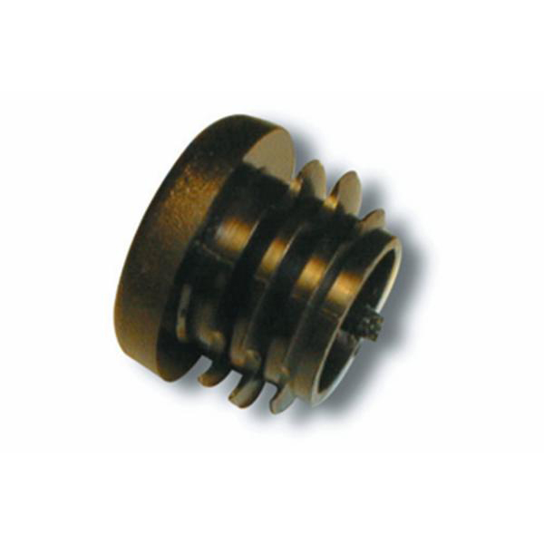 Isabella 23mm Black End Plug Fibre
