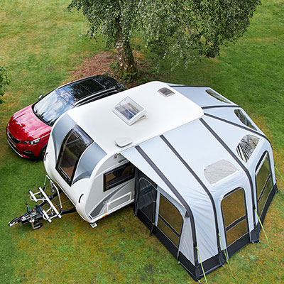 Discover your awning options - Winchester Caravans & Motorhomes