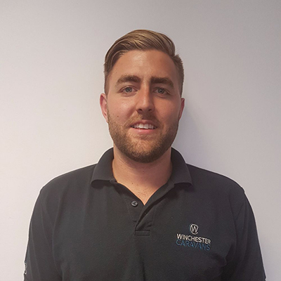 Matt Boast, Workshop Manager - Winchester Caravans and Motorhomes