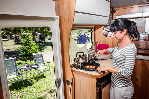 Caravan cooking tips - Winchester Caravans and Motorhomes