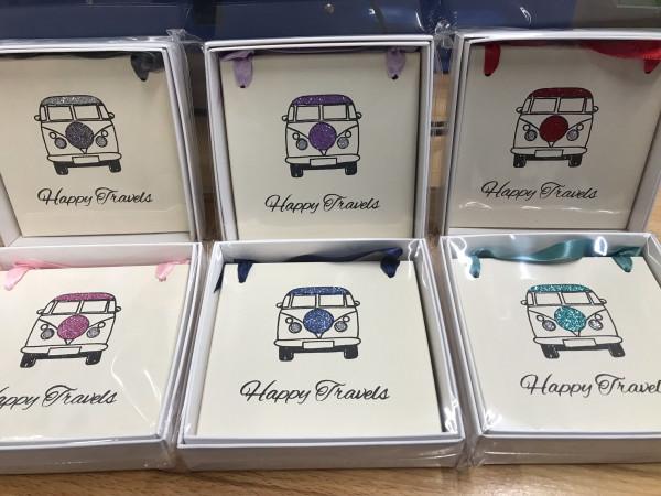 Happy Travels-Campervan Plaque