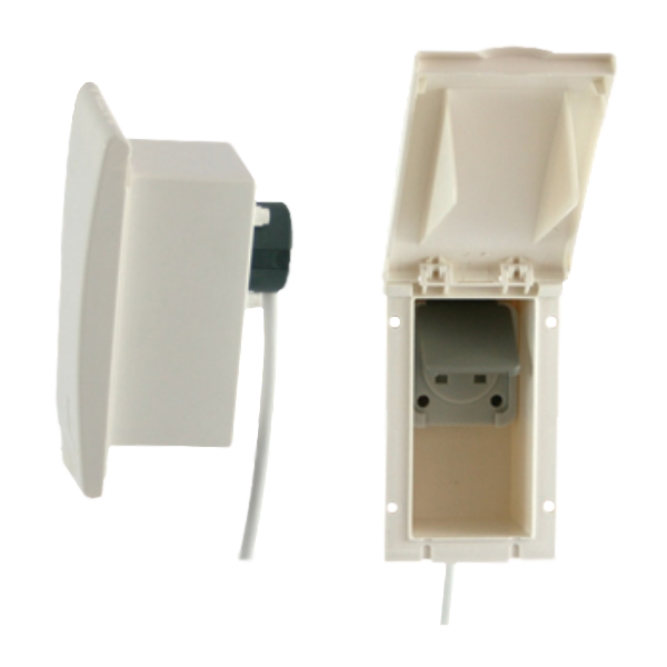 Flush Fitting 240V Outlet