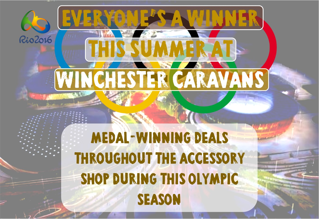 Everyone's a winner this summer at Winchester Caravans