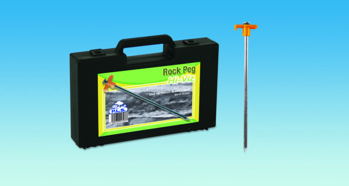 Hi-Viz Rock Pegs 25cm Box Set