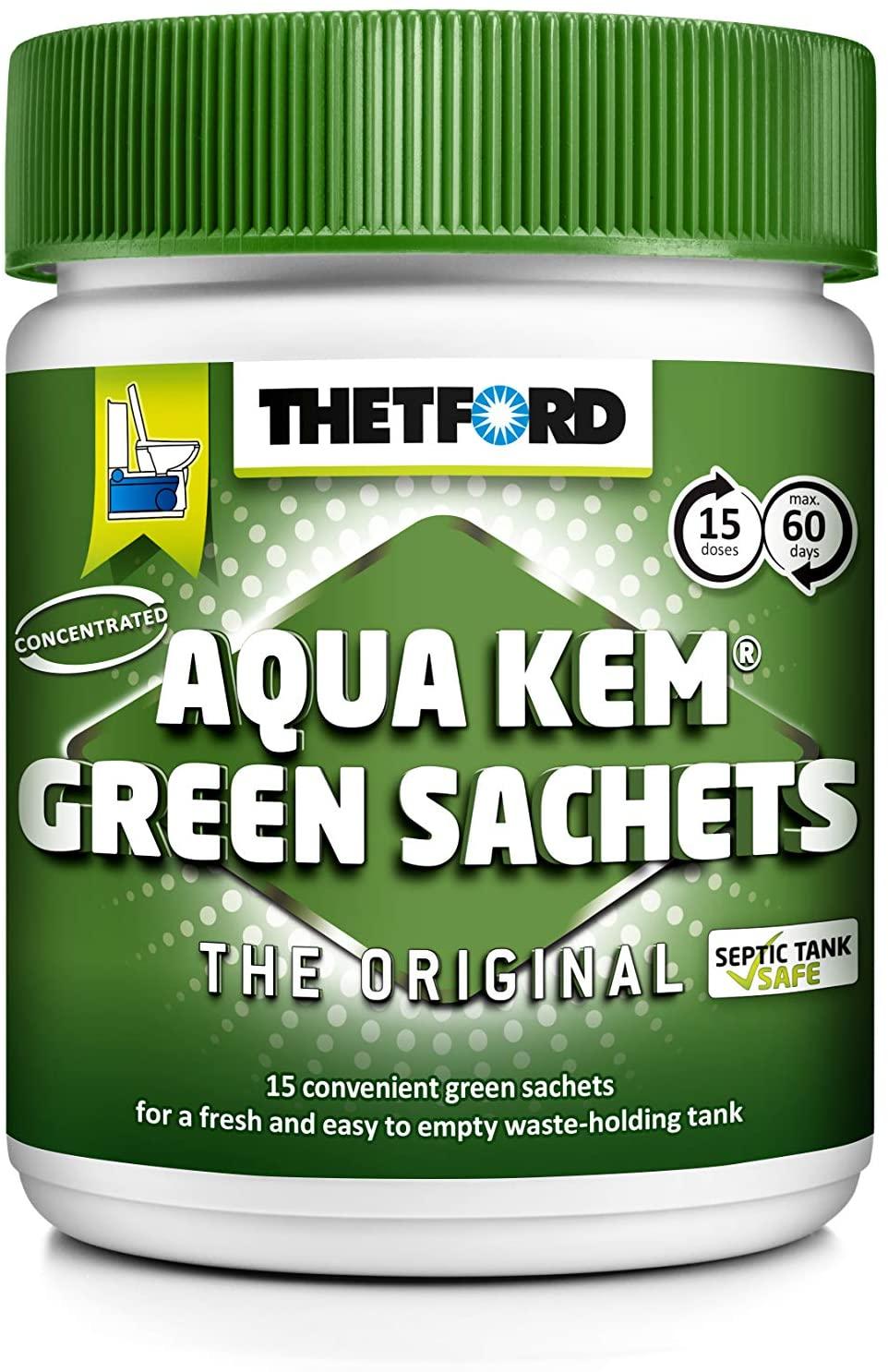 Thetford Aquakem Green Tub of 5