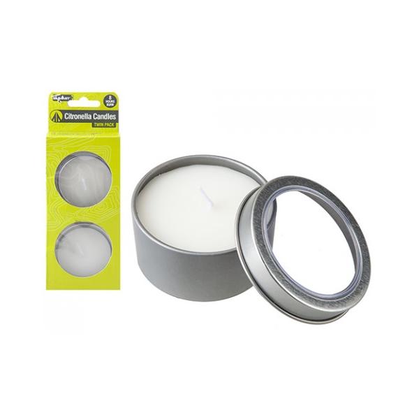 Citronella Candle Set (2pcs)