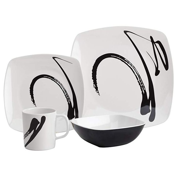 Ink Design 16pc Dinner Set