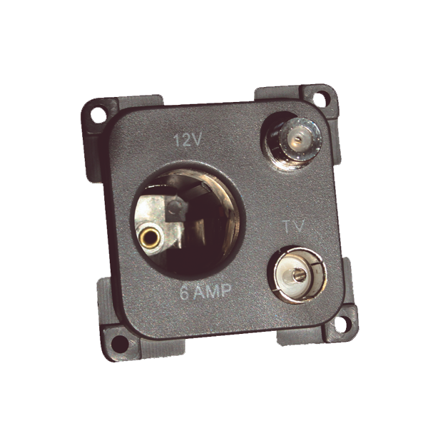 C-Line 12v, TV & Satellite Socket