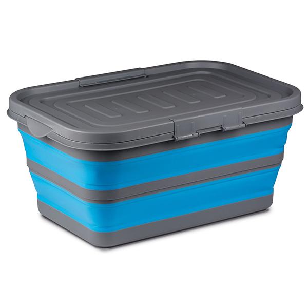 Kampa Large Storage Box (Collapsible) - Blue