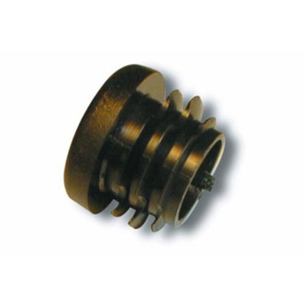 Isabella 26mm Black End Plug Fibre