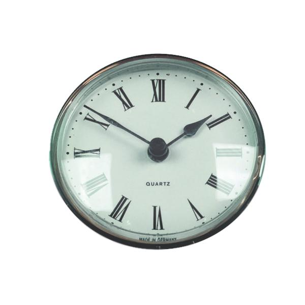 72mm Round Caravan Clock