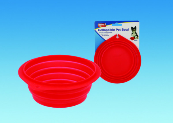 Travel Collapsible Dog Bowl 1Ltr