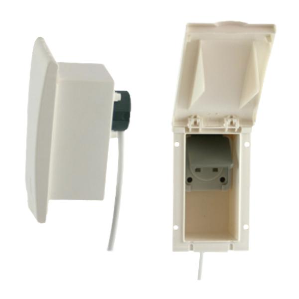 Flush Fitting 240V Outlet