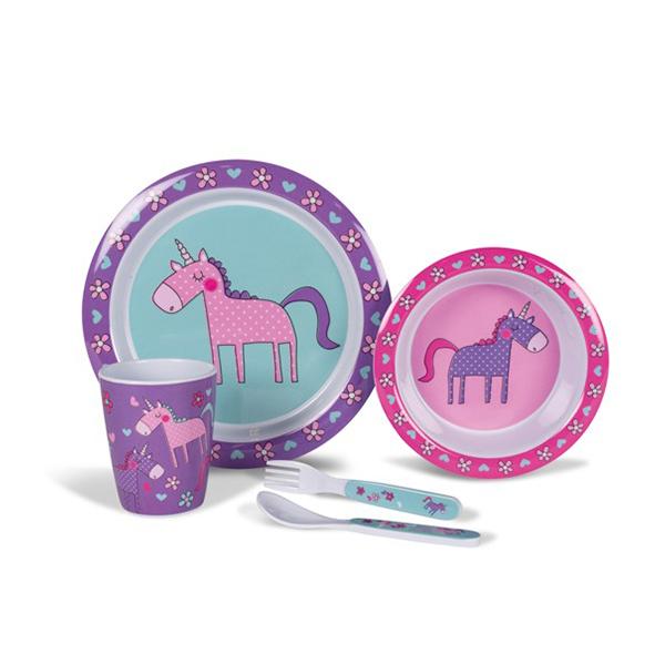 Kampa Unicorns 4pc Dining Set