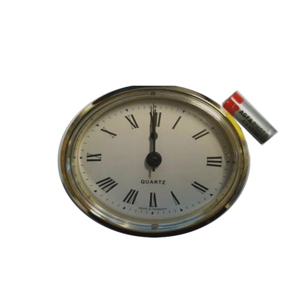 72mm Oval Caravan Clock