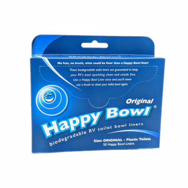 Happy Bowl Toilet Bowl Liners (50pcs)