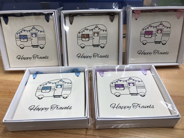 Happy Travels- Caravan Plaque