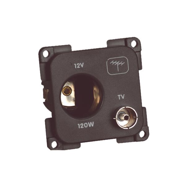 C-Line 12v & TV Socket