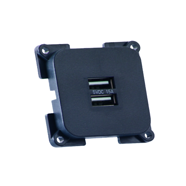 C-Line Twin USB Socket