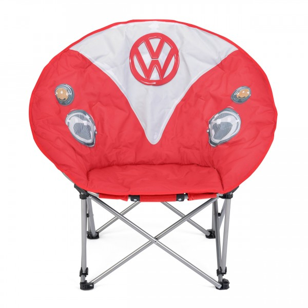Red VW Folding Moon Chair