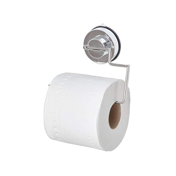 Quick Lock Suction Toilet Roll Holder