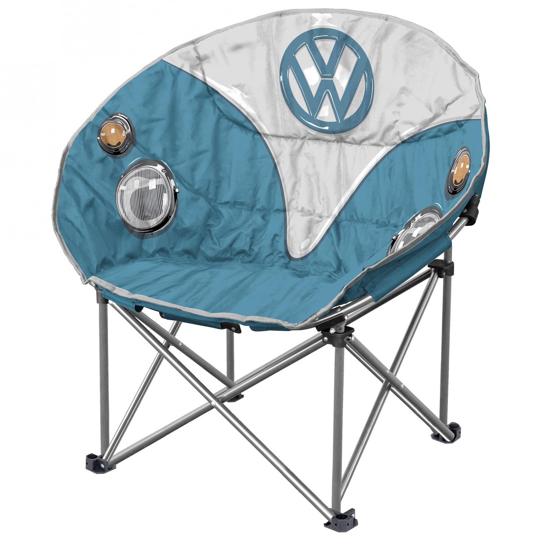 Blue VW Folding Moon Chair