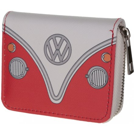 Red VW Zip Around Purse