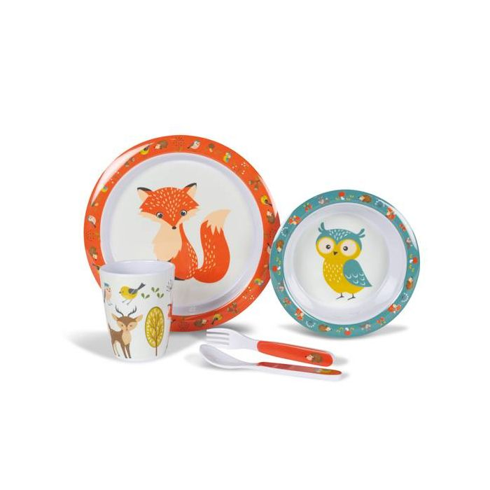 Woodland Creatures 4pc Set